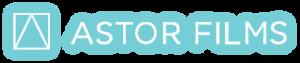 Astor Films logo with glow